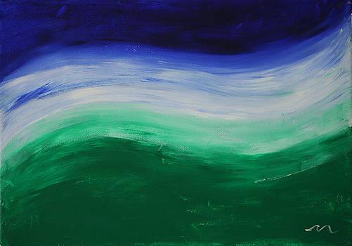 Chakra Wave 1 by Malik Jaffer
