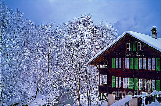 Chalet Daheim Swiss Alps by Tom Jelen