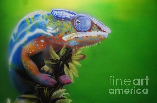 Chameleon by Oleg Kozelskiy