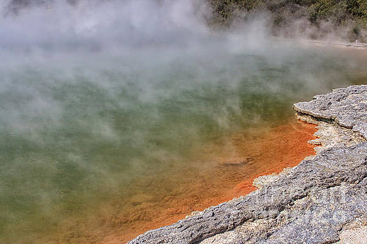 Patricia Hofmeester - Champagne Pool, New Zealand