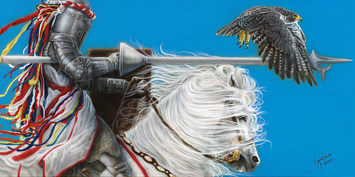 Champions Charge by Wayne Pruse