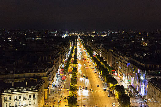 Champs Elysees by Ron Thornton
