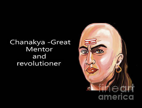 Chanakya The Great by Artist Nandika Dutt