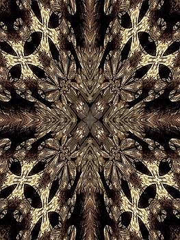 Chandelier Cross by Ricky Kendall