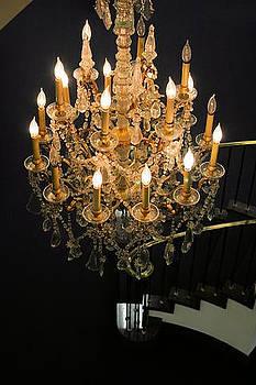 Chandelier Glow by Paulette Maffucci