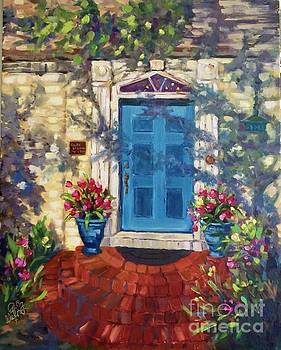 Chandor Gardens Door by Patsy Walton