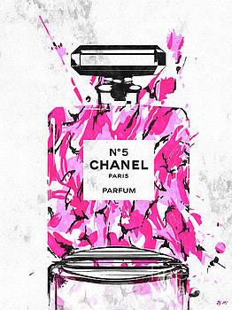 Chanel No. 5 Pink Army by Daniel Janda