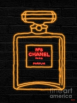 Chanel No.5 Neon by Daniel Janda