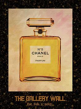 Chanel No.5 Parfum Bottle 1 by Sandi OReilly