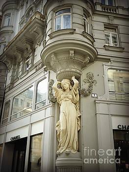 Jugendstil Caryatid III by Diana Plaisance