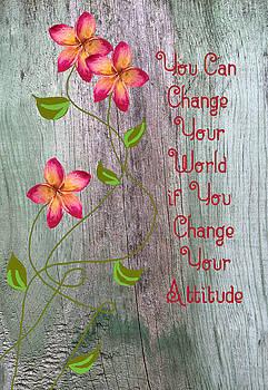 Change Your World by Rosalie Scanlon