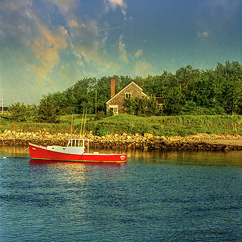 Channel Afternoon by Samuel M Purvis III