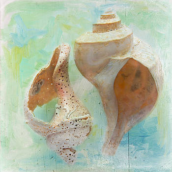 Channeled Whelks by Cindi Ressler