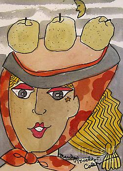 Chapeau Pommes by Marilyn Brooks
