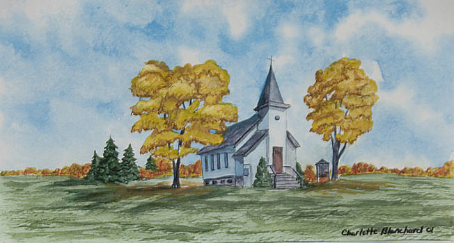 Charlotte Blanchard - Chapel In Fall