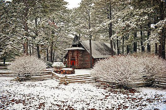 Chapel In The Woods by Marty Koch