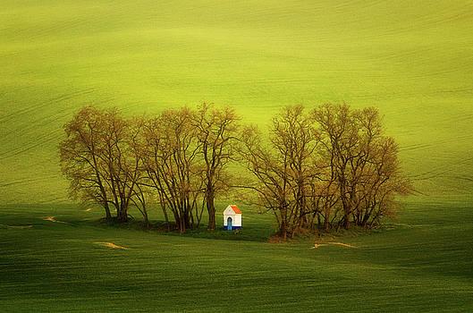 Chapel-in-trees by Swen Stroop
