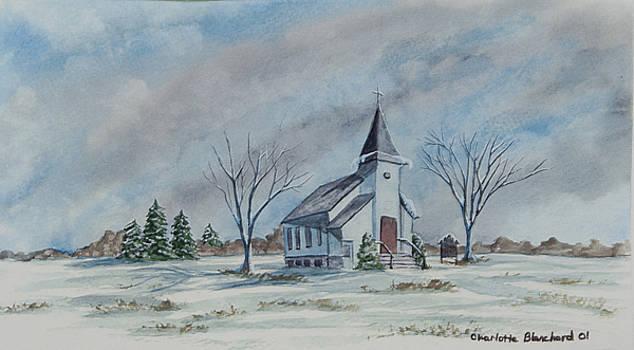 Charlotte Blanchard - Chapel In Winter
