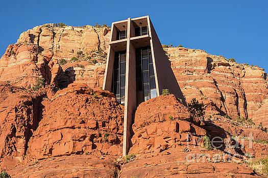 Chapel of the Holy Cross - Sedona - Arizona by Gary Whitton