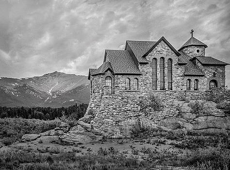 James Woody - Chapel On The Rock - Black and White