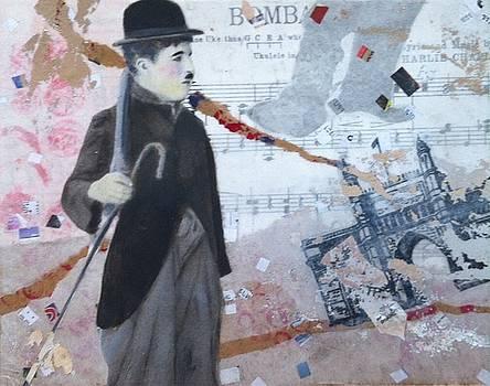 Chaplin in Bombay  by Elizabeth Bogard