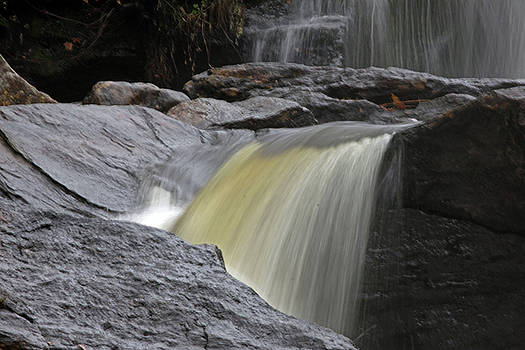 Chapman Falls 4 by Gerald Mitchell