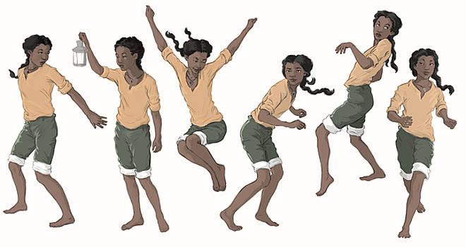 Character Design Sheet by Jennifer Soriano