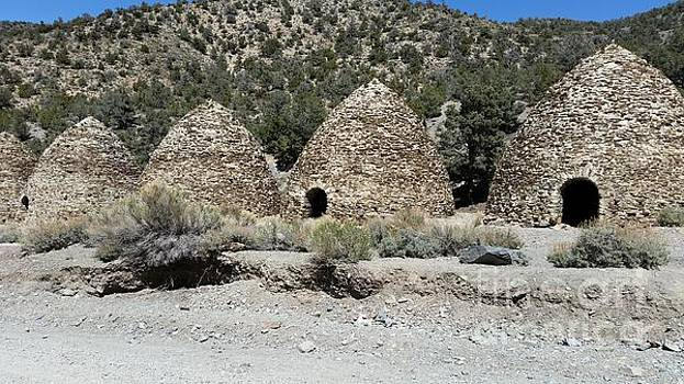 Charcoal Kilns by Fortunate Findings Shirley Dickerson