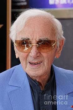 Charles Aznavour 2 by Nina Prommer