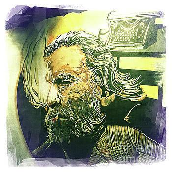 Charles Bukowski by Nina Prommer