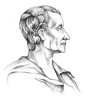 Charles de Secondat by Dariusz Kronowski