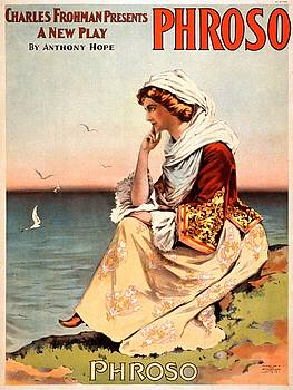 Charles Frohman presents Phroso, performance poster, 1898 by Vintage Printery