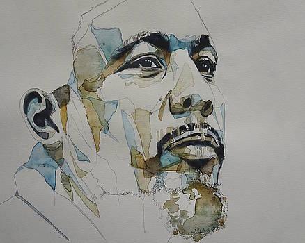 Charles Mingus Art by Paul Lovering