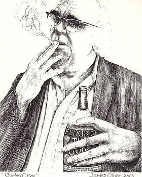 Charles Olson by James Oliver