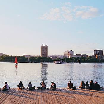 Charles River Dock by Brian McWilliams