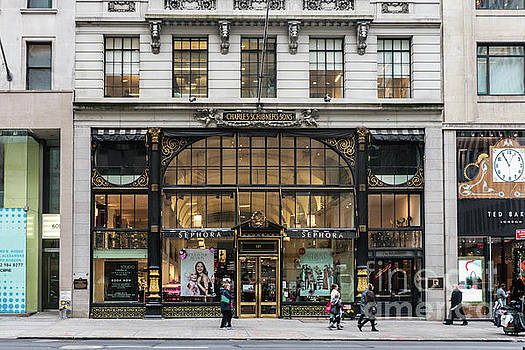 Charles Scribner Building Fifth Avenue by Thomas Marchessault