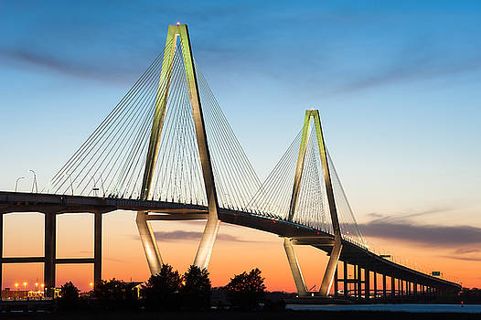 Charleston Arthur Ravenel Jr. Cooper River Bridge by Mark VanDyke