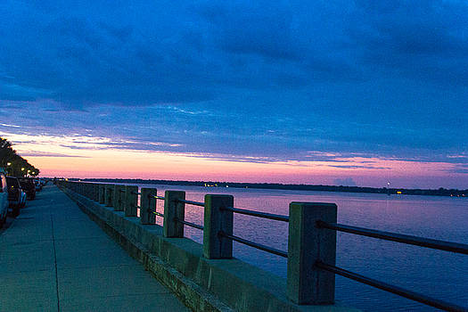 Charleston Battery at Dawn by BG Flanders
