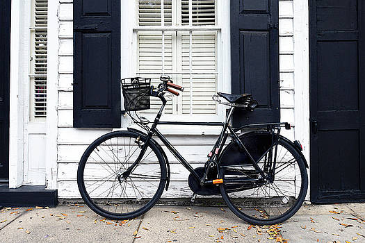Charleston Bicycle on Meeting Street by Catherine Sherman