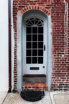 Charleston Brick Entrance to Historic Downtown Charleston South Carolina  by Dale Powell
