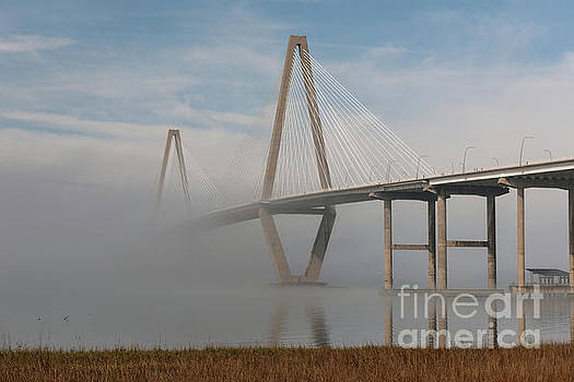 Dale Powell - Charleston Bridge Fog