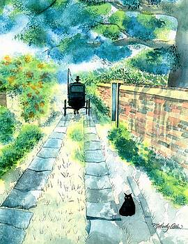 Charleston Carriage Path by Melody Allen