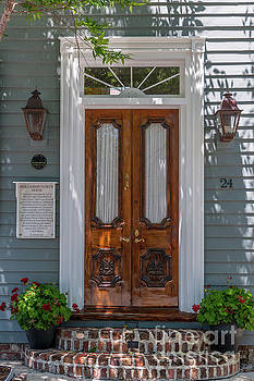 Dale Powell - Charleston Casimir Patrick House Entrance