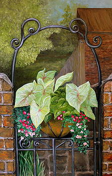 Charleston Garden Gate by Lisa Graves