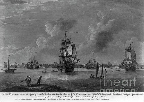 Dale Powell - Charleston Harbor Early 1700s