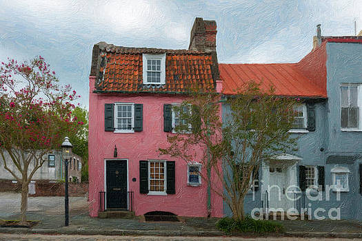 Dale Powell - Charleston Pink House Charm
