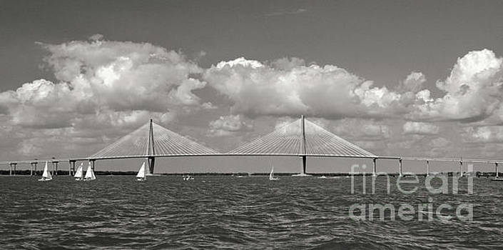 Charleston Sailing in Sepia by Dale Powell