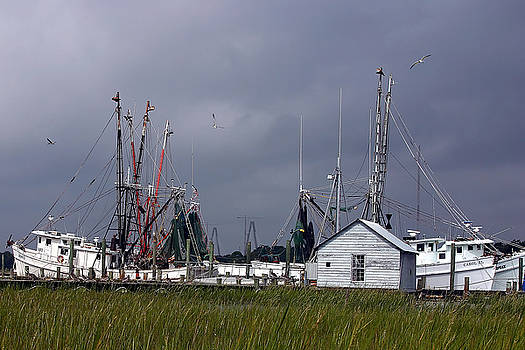Ken Barrett - Charleston Shrimp Boat