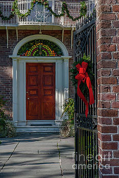 Dale Powell - Charleston South Carolina Christmas Door