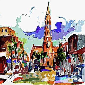 Charleston South Carolina Saint Philips Church by Ginette Callaway